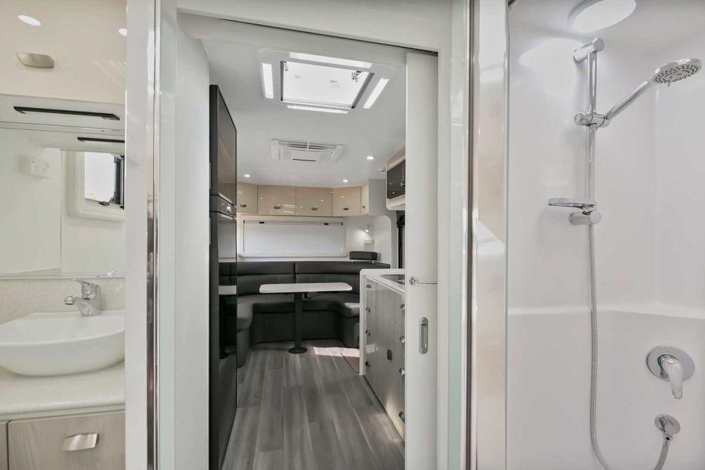 Goodlife Rv Inside Bathroom of Caravan