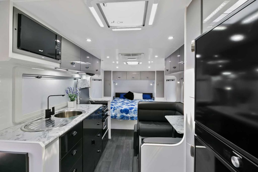 Full Interior Photo Goodlife RV Caravan