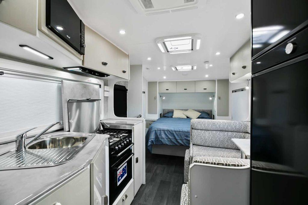 Interior Of Caravan - Goodlife RV