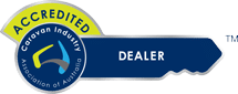Caravan Industry Accredited Dealer Logo
